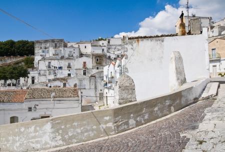 monte sant angelo: Alleyway   Monte SantAngelo  Puglia  Italy  Stock Photo
