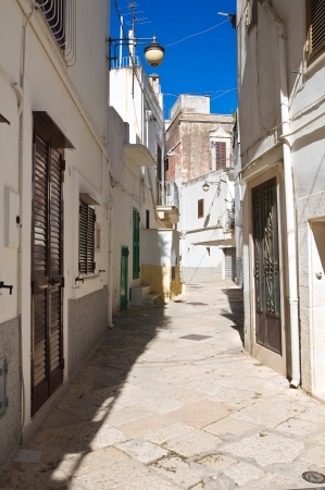 Alleyway. Noci. Puglia. Italy.  photo