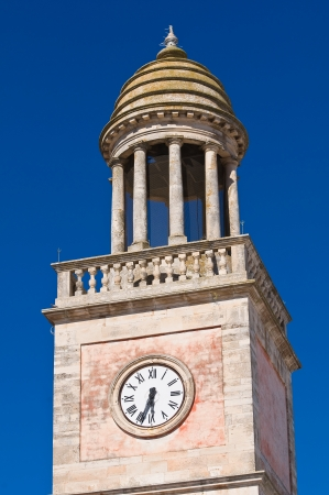 Clocktower. Noci. Puglia. Italy. photo