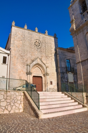monte sant angelo: Church of St  Benedetto  Monte San Tangelo  Puglia  Italy