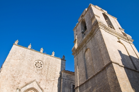 monte sant angelo: Church of St  Benedetto  Monte Sant Angelo  Puglia  Italy