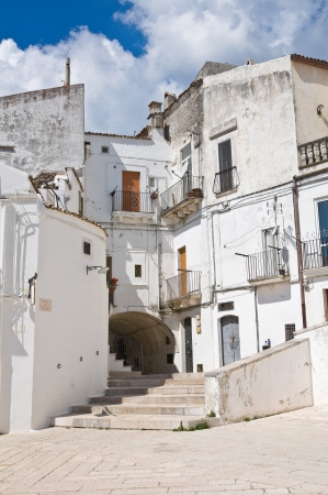 monte sant angelo: Alleyway  Monte Sant Angelo  Puglia  Italy