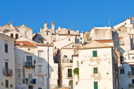 Panoramic view of Rodi Garganico  Puglia  Italy Stock Photo - 22415632