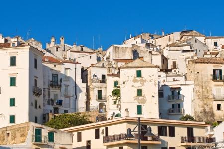 Panoramic view of Rodi Garganico  Puglia  Italy Stock Photo - 22415644