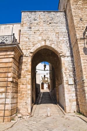 conversano: Porta della Gabella. Conversano. Puglia. Italy.