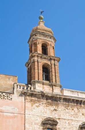 ss: Church of SS. Cosma e Damiano. Conversano. Puglia. Italy. Stock Photo