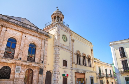 conversano: Clocktower. Conversano. Puglia. Italy.