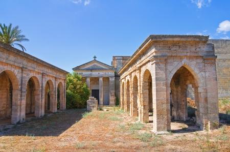 urbanistic: Historical church  Maruggio  Puglia  Italy  Stock Photo