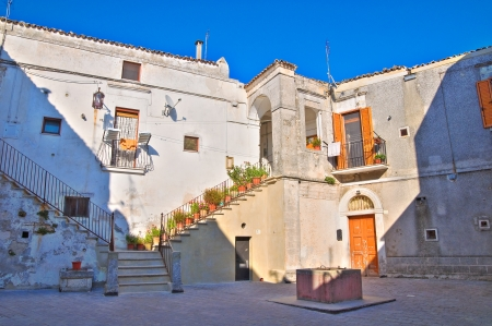 monte sant angelo: Episcopal palace  Monte SantAngelo  Puglia  Italy