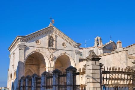 Sanctuary of Monte SantAngelo  Puglia  Italy Stock Photo