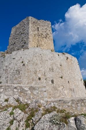 monte santangelo: Castle of Monte SantAngelo  Puglia  Italy
