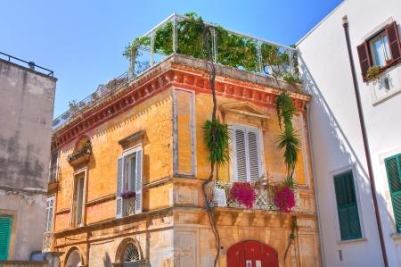 conversano: Historical palace. Conversano. Puglia. Italy.  Stock Photo
