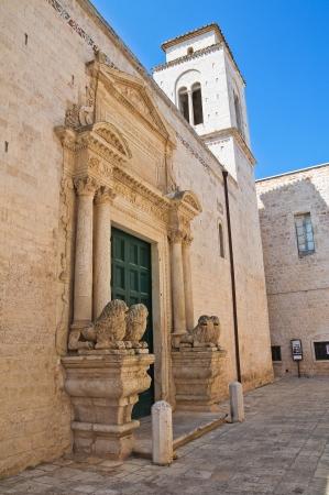conversano: Church of St. Benedetto. Conversano. Puglia. Italy.