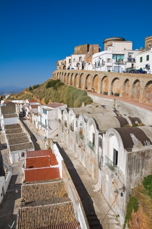 Panoramic view of Pisticci  Basilicata  Italy   photo