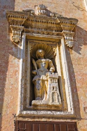 carmine: Chiesa della Madonna del Carmine. Manduria. Puglia. Italia.