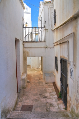 Alleyway  Noci  Puglia  Italy Stock Photo - 22582563