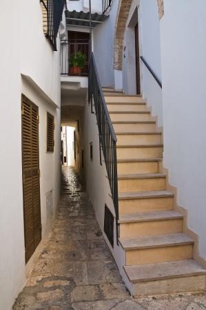 Alleyway  Noci  Puglia  Italy Stock Photo - 22582571