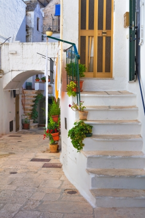 Alleyway  Noci  Puglia  Italy   photo