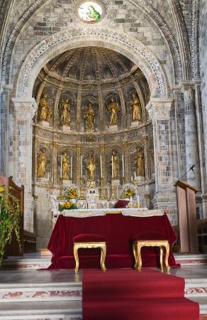 Mother Church of Manduria. Puglia. Italy.
