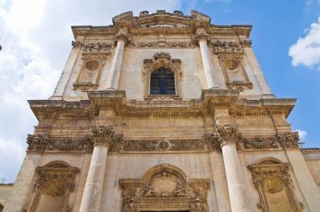anna: Church of St. Anna. Mesagne. Puglia. Italy.  Stock Photo