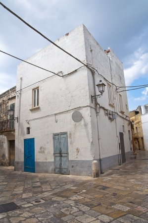 Alleyway. Mesagne. Puglia. Italy. photo