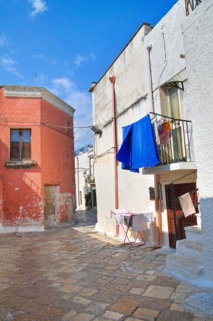 Alleyway  Mesagne  Puglia  Italy  photo
