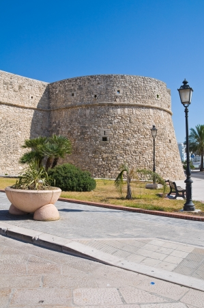 foggia: Angevine-Swabian Castle. Manfredonia. Puglia. Italy.