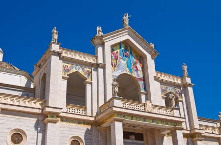 daunia: Cathedral of Manfredonia  Puglia  Italy  Stock Photo