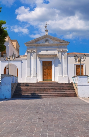 luce: Church of SS  Maria della Luce  Mattinata  Puglia  Italy  Stock Photo