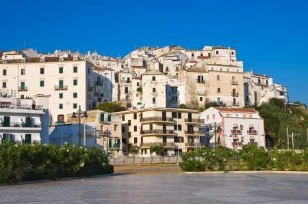 Panoramic view of Rodi Garganico  Puglia  Italy Stock Photo - 22732638
