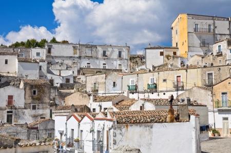 Panoramic view of Monte SantAngelo  Puglia  Italy Stock Photo - 22732664