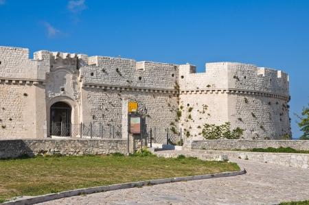 monte sant angelo: Castle of Monte SantAngelo  Puglia  Italy