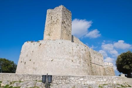 Castle of Monte SantAngelo  Puglia  Italy