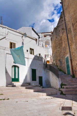 Alleyway  Monte SantAngelo  Puglia  Italy Stock Photo - 22810100