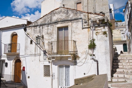 foggia: Alleyway  Monte SantAngelo  Puglia  Italy