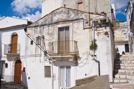 monte santangelo: Alleyway  Monte SantAngelo  Puglia  Italy