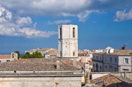 monte sant angelo: Panoramic view of Monte SantAngelo  Puglia  Italy  Stock Photo