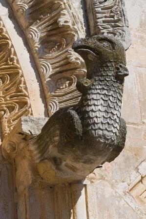 monte santangelo: Church of St  Maria Maggiore  Monte SantAngelo  Puglia  Italy Stock Photo