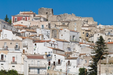 foggia: Panoramic view of Monte SantAngelo  Puglia  Italy  Stock Photo