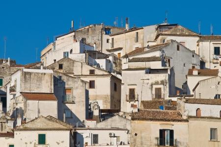 Panoramic view of Rodi Garganico  Puglia  Italy Stock Photo - 22810173
