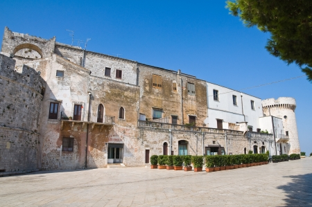 conversano: Castle of Conversano. Puglia. Italy.  Editorial