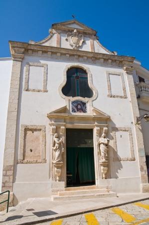 conversano: Church of Passione. Conversano. Puglia. Italy.