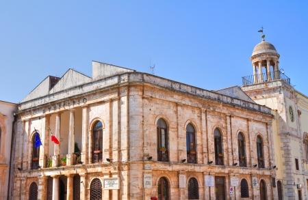 conversano: Town Hall Building. Conversano. Puglia. Italy. Stock Photo