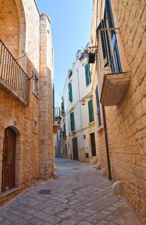 conversano: Alleyway. Conversano. Puglia. Italy.  Stock Photo