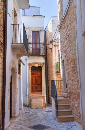 conversano: Alleyway  Conversano  Puglia  Italy