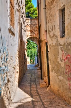 puglia: Alleyway  Conversano  Puglia  Italy