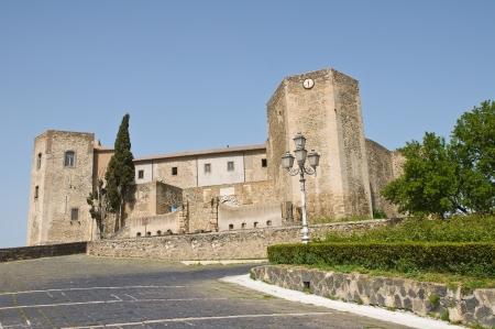 basilicata: Castle of Melfi. Basilicata. Italy.