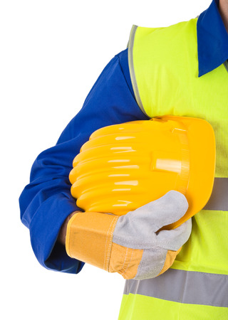 Blue collar worker   photo