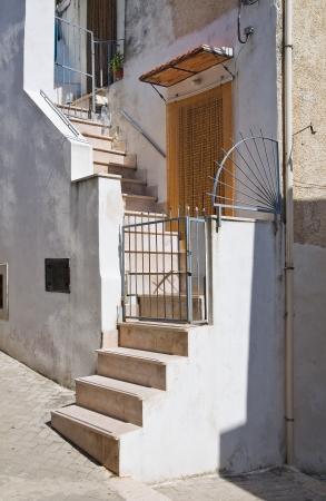 rodi: Alleyway  Rodi Garganico  Puglia  Italy