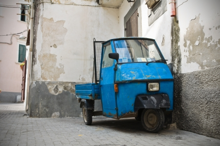 rodi garganico: Alleyway  Rodi Garganico  Puglia  Italy  Stock Photo